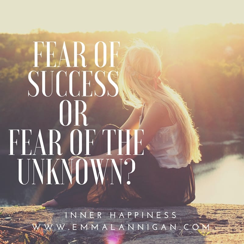 Over coming the fear of the unknown