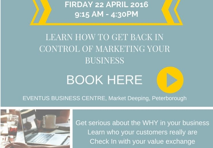 learn how to organise your marketing and get your time back and still get results