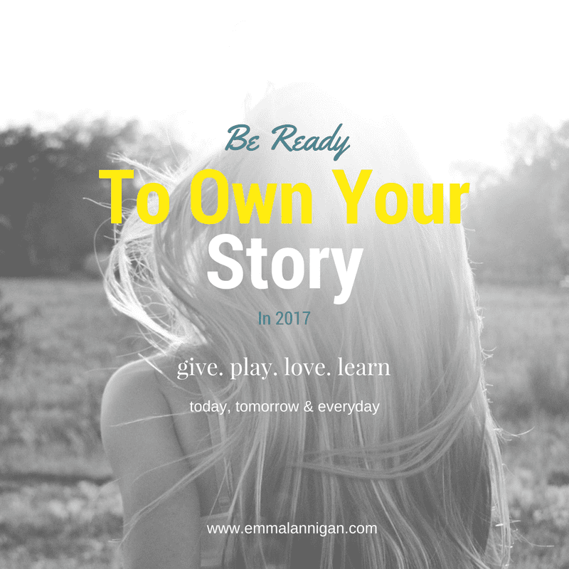 Owning your story to get back in control of your life