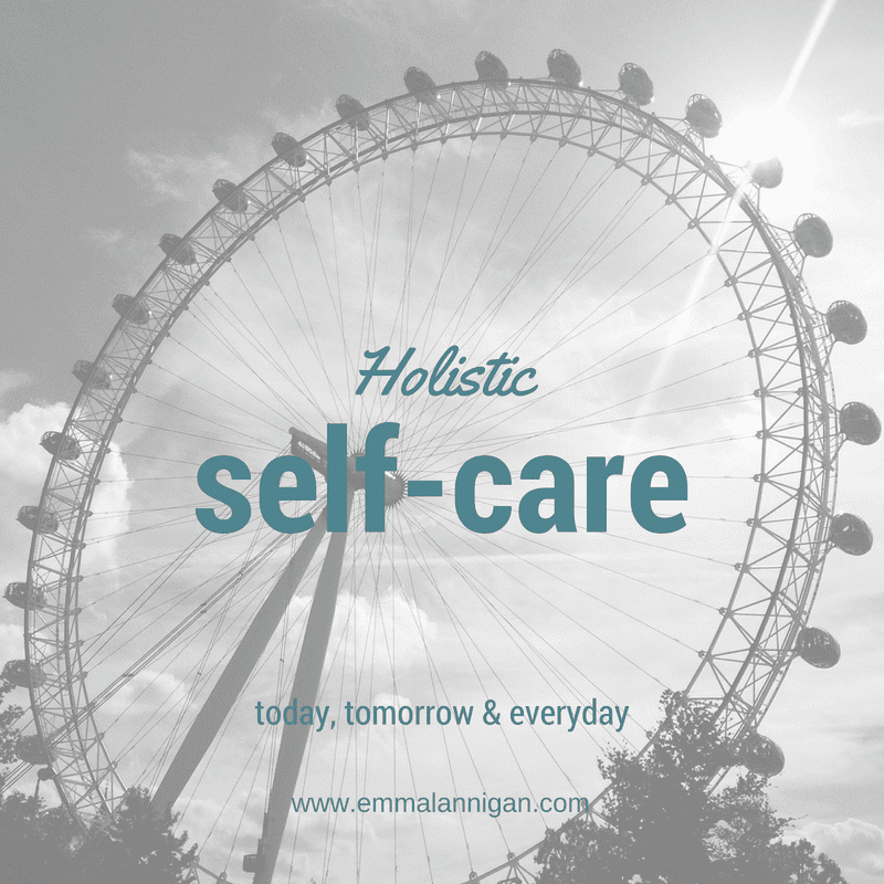 Holistic self care with holistic wheel
