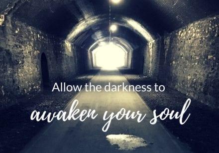 Awaken the darkness within November monthly guidance
