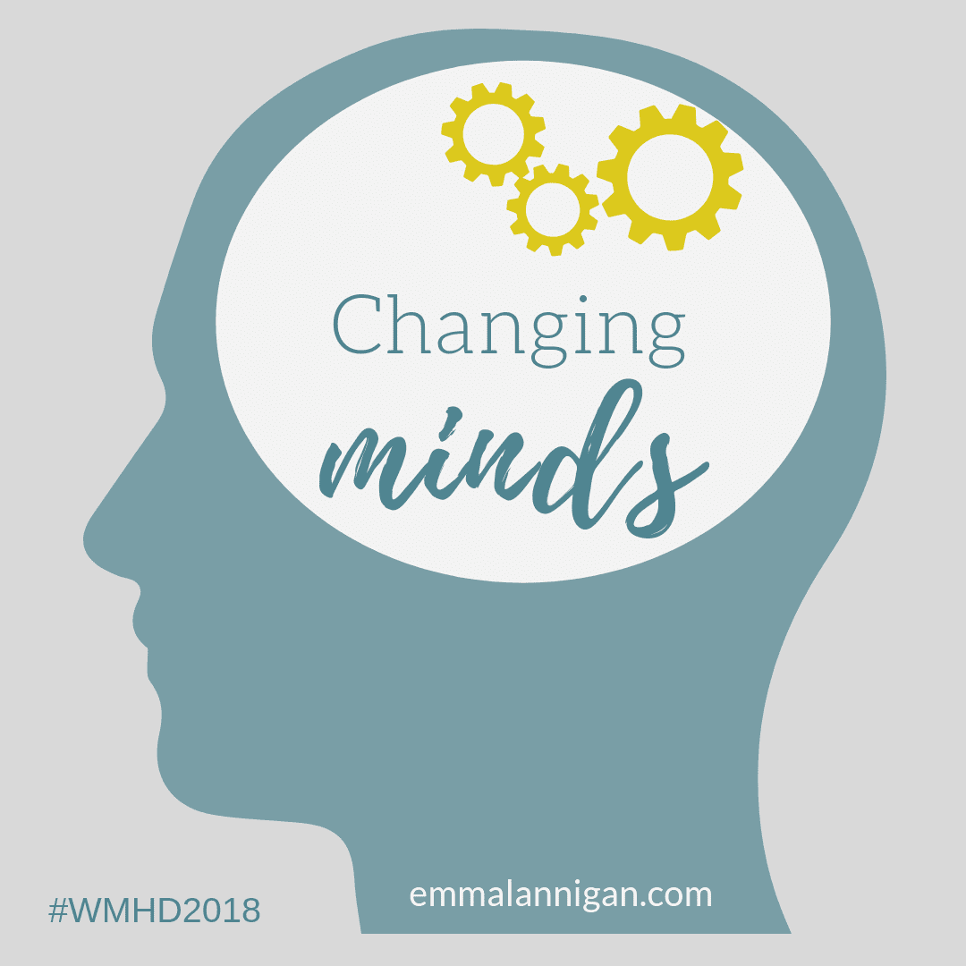 Changing Minds - World Mental Health Day 2018