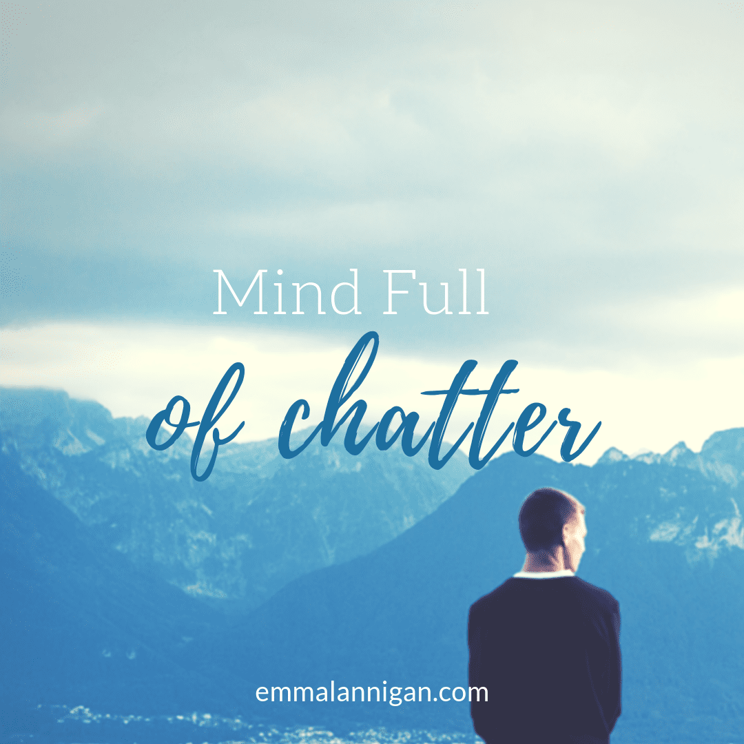 Mind full of chatter solution with coaching