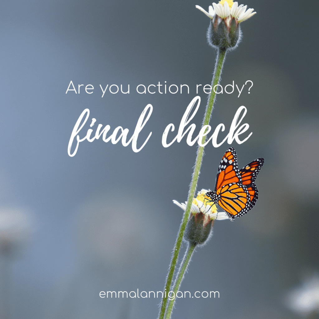 be action ready - March Blog Emma Lannigan