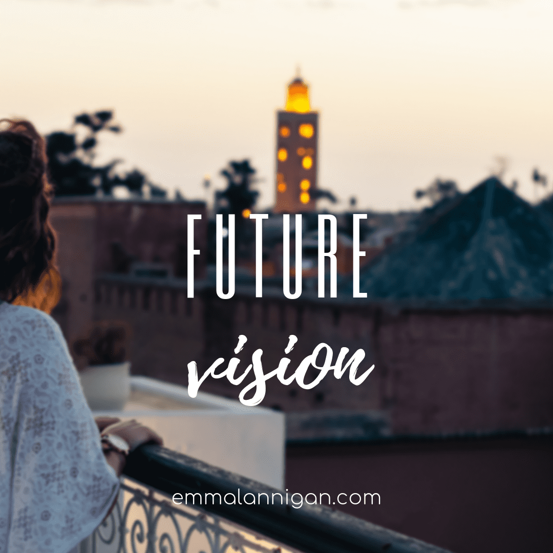 Future vision planning with Emma Lannigan