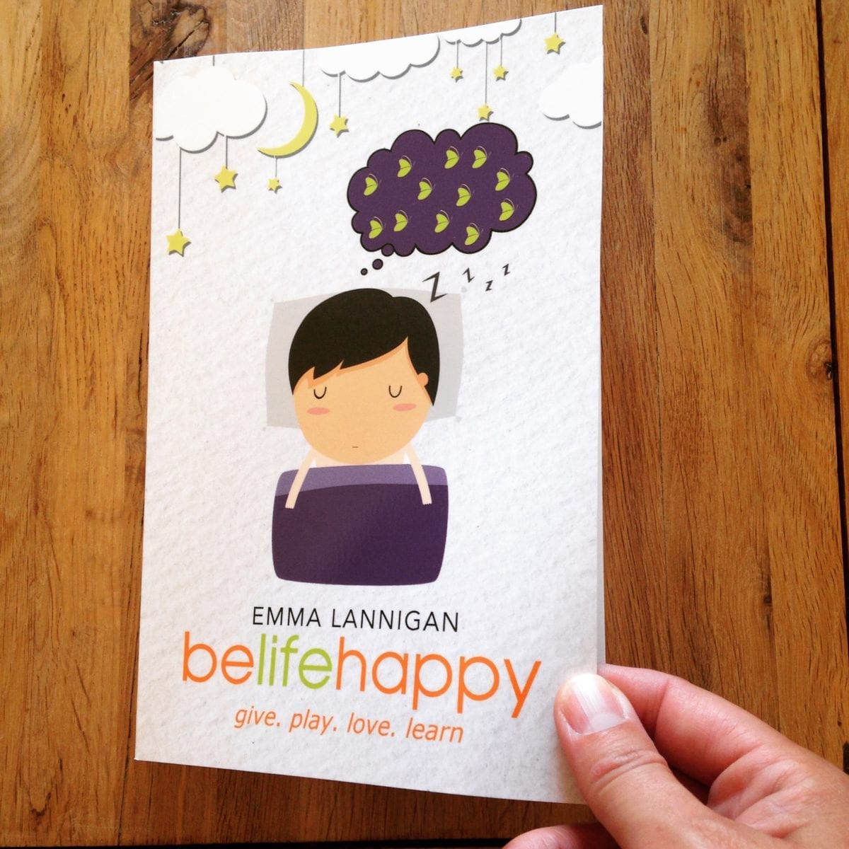 Emma Lannigan belifehappy book